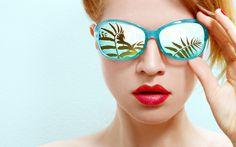 Sonnenbrillen sollten auf die Gesichtsform abgestimmt werden