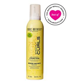 Best Curly Hair Product No. 19: Marc Anthony Strictly Curl Enhancing Styling Foam, $7.99