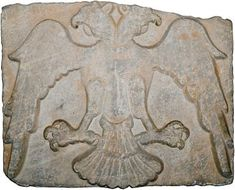 Konya, which was the the capital of the Rum Seljuks from 1097 onward, is a real treasure of double-headed eagle imagery. Image: A13th c. double-headed eagle reliefs found at Konya (now in Ince Minare Museum). Notice the both Byzantine and Persian influences.