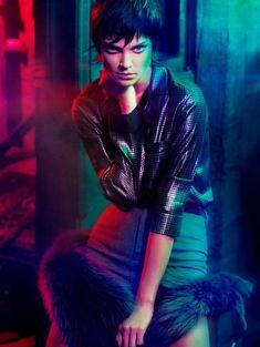 Seductive Film Noir Fashion : Viktoriya Sasonkina