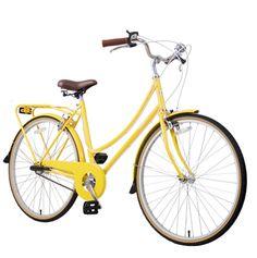 Bobbin bicycle...yes I would like a yellow bike :-)