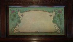 Art Nouveau side panel