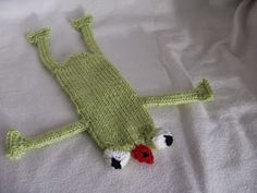Stana's Critters Etc.: Knitting Pattern for Fred, the Frog