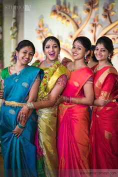 Real Brides who make their Wedding Planning sound like a cake-walk are sure the best kind of people. We're glad we get to feature Swetha and Jai's beautiful Wedding Story. South Indian Weddings, South Indian Bride, Kerala Bride, Hindu Bride, Beautiful Saree, Beautiful Bride, Indian Bridal Wear, Indian Wear, Saree Wedding
