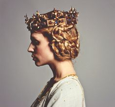 The Hollow Crown, BBC. Clemence Poesy as Isabella of Valois.