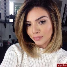 Fryzury Średnie włosy: Fryzury Średnie - Szzeherezada - 2621614