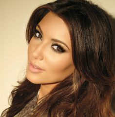 kim kardashian #maquillaje #makeup
