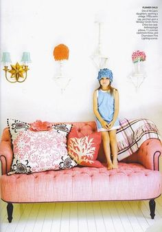 6th Street Design School | Kirsten Krason Interiors : Love Day Girls Room