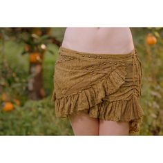 Melody Studded Skirt (Masala) Festival Gypsy Bohemian Hippie Fairy... ($79) ❤ liked on Polyvore featuring skirts, black, women's clothing, hippy skirt, tie-dye skirts, gypsy boho skirts, hippie wrap skirt and tie wrap around skirt
