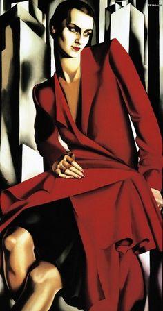 Portrait of Mrs Bush . Tamara de Lempicka