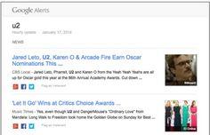 Alertas de Google recibe un rediseño en sus boletines de correo electrónico