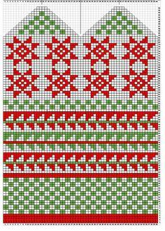 Mittens Pattern, Knit Mittens, Mitten Gloves, Knitting Socks, Knit Socks, Fair Isle Pattern, Fair Isle Knitting, Knitting Charts, Knitting Needles