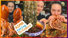 Octopus Eating, Spicy Recipes, Seafood, Sausage, Sea Food, Sausages, Chinese Sausage, Seafood Dishes