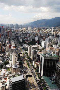 Avenida Libertador de Caracas..