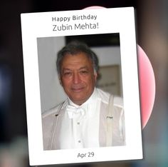 Zubin Mehta is an Indian Parsi conductor of Western classical music. He is the Music Director for Life of the Israel Philharmonic Orchestra and the Main Conductor forValencia's opera house.Zubin Mehtais also the chief conductor of Florence, Italy's Maggio Musicale festival.