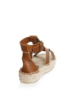 ebab7d2cc4c Banded Shield Leather Espadrilles by Soludos