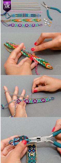 Para hacer nuestras propias pulseras, #Diy #PrincesasDe40
