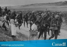 This month marks the 100th anniversary of Canada's entry into World War One. Let's not forget those who died for our freedom. http://www.veterans.gc.ca/iremember