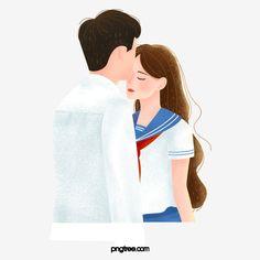 Love Cartoon Couple, Love Couple Images, Cartoon Boy, Couples Images, Young Couples, Romantic Couple Kissing, Romantic Love, Romantic Couples, Boys Kissing Girls