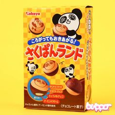 Kabaya Panda Almond Chocolate Balls