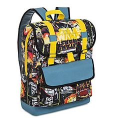 Star Wars: The Force Awakens Backpack | Disney Store Perfect for school and adventures galore, our <i>Star Wars: The Force Awakens</i> Backpack equips young rebels with essentials and more!