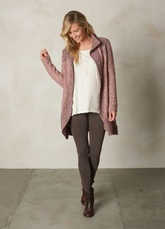 One of my only pairs of pants that still fit me, in tan. Outdoorsy Style, Outdoorsy Fashion, Fall Winter Outfits, Casual Weekend, Leggings, Clothes For Women, My Style, Stylish, Sweaters