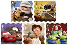 Pixar stamps coming later this month