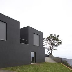 "Casa Funchal 05, also known as ""black and white house"", is deliberately austere, with flat, white interior surfaces and black exterior finishes."
