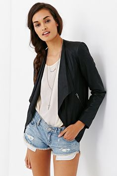 aef230393ed BB Dakota Patina Leather Jacket - Urban Outfitters Leather Cleaning