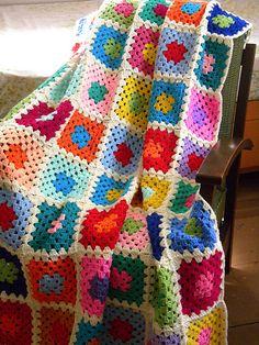 gunma's granny square blanket