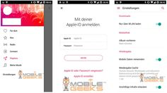 Conoce sobre Primeras imágenes de la aplicación Apple Music para Android