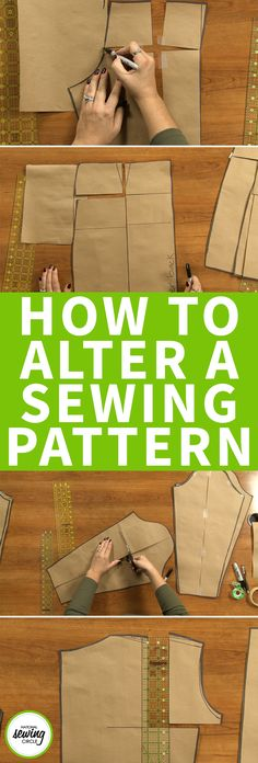 We all know one of the most exciting parts about making a garment is picking out the fabric and cutting it all up in to pieces, but my advice to you is to be patient! First take a close look at your pattern – does it need to be altered?