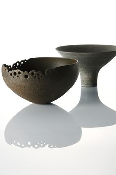 OHNAKA Kazunori, Japan 大中和典 Not wild about the style but I like the idea of a lacy rim.