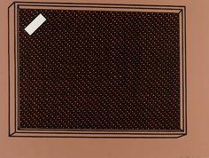 Patrick Caulfield 'Loudspeaker', 1968 © The estate of Patrick Caulfield. All Rights Reserved, DACS 2014 Loudspeaker, Pop Art, Artwork, Color, Artists, Work Of Art, Auguste Rodin Artwork, Speakers, Colour