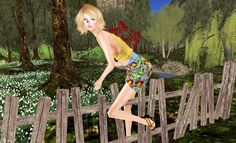 Dizzy Duckling Diary: No fences for my love Fences, Mesh, Adventure, My Love, Women, Fashion, Picket Fences, Fencing, Moda