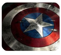 "Captain America Shield Mousepad Personalized Custom Mouse Pad Oblong Shaped In 9.84""X7.87"" Gaming Mouse Pad/Mat HALILUYA https://www.amazon.ca/dp/B016CXKK0S/ref=cm_sw_r_pi_dp_e5udxbGD1T98V"