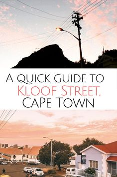 Heading to Cape Town looking for one of the hippest area in town? A guide for the best Kloof Street restaurants, where to sleep have a glass of wine. Where to eat in Cape Town Africa Destinations, Amazing Destinations, Travel Destinations, Travel Tips, Travel Advice, Travel Ideas, Visit South Africa, Wine Bars, Beautiful Places To Visit
