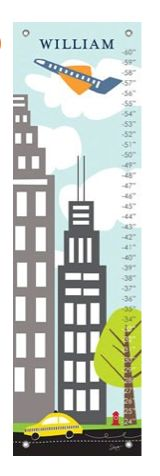 Personalized Urban Landscape Growth Chart