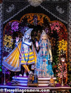 Beauty and Grandeur of Marvelous Prem Mandir @ Vridavan, Uttar Pradesh, India Lord Krishna Images, Radha Krishna Pictures, Radha Krishna Photo, Krishna Photos, Krishna Art, Baby Krishna, Cute Krishna, Lord Krishna Wallpapers, Radha Krishna Wallpaper