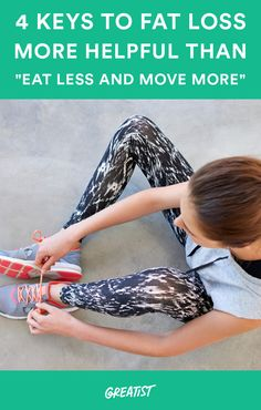 Here's what else you should consider. #weightloss #diet #exercise http://greatist.com/live/lose-fat-diet-exercise