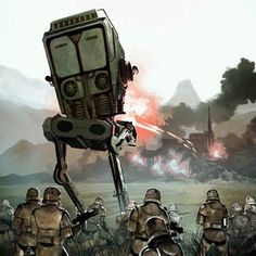 AT-ST - Star Wars