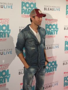 Enrique Iglesias at the iHeartRadio Ultimate Pool Party.