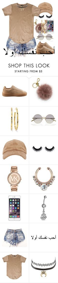 """""""We turn haters into lovers"""" by neshalove223 ❤ liked on Polyvore featuring Puma, MICHAEL Michael Kors, Ippolita, Linda Farrow, Michael Kors, Bling Jewelry and Charlotte Russe"""