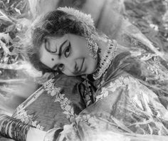 Portrait of the actress Saira Banu, c. 1965. Portrait of the actress Saira Banu (b. 1944), married to Dilip Kumar. Banu's debut film was Junglee (1961) opposite Shammi Kapoor. She acted in several successful films including Padosan (1968), Purab aur Paschim (1971), Zameer (1975), Aadmi aur Insaan (1969) and others. This is an image of the young Saira, probably taken in a studio with soft lighting.