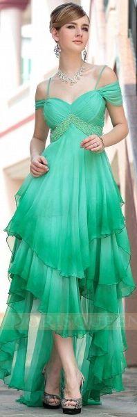 2013 Hot sale chiffon off shoulder long green evening gowns,gown dresses 30620 #long #dress #formal