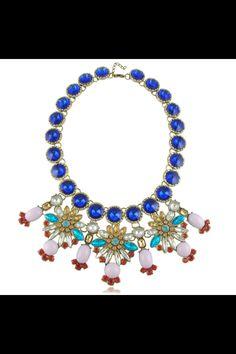 #bettyandbiddy statement necklace #love #blue