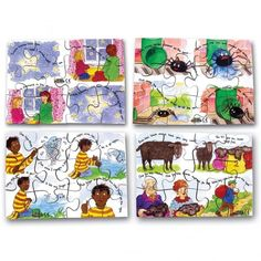Contains 4 hand cut wooden jigsaw puzzles featuring popular nursery rhymes. Each jigsaw has 12 chunky pieces. Includes: Baa Baa Black Sheep Twinkle Twinkle Little Star Incey Wincey Spider One, Two, Three, Four, Five Size: 19 x School S, Primary School, Teaching Resources, Baa Baa Black Sheep, Wooden Jigsaw Puzzles, Twinkle Twinkle Little Star, Eyfs, Nursery Rhymes