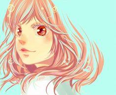 anime, cute couple, and anime girl image