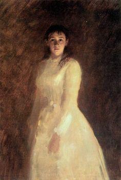 Ivan Kramskoy - Portrait of a woman (1880)