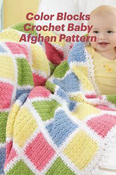 Free Baby Blanket Patterns, Crochet Baby Blanket Free Pattern, Granny Square Crochet Pattern, Baby Patterns, Crochet Blankets, Baby Afghans, Baby Boy Blankets, Easy Crochet Stitches, Crocheting